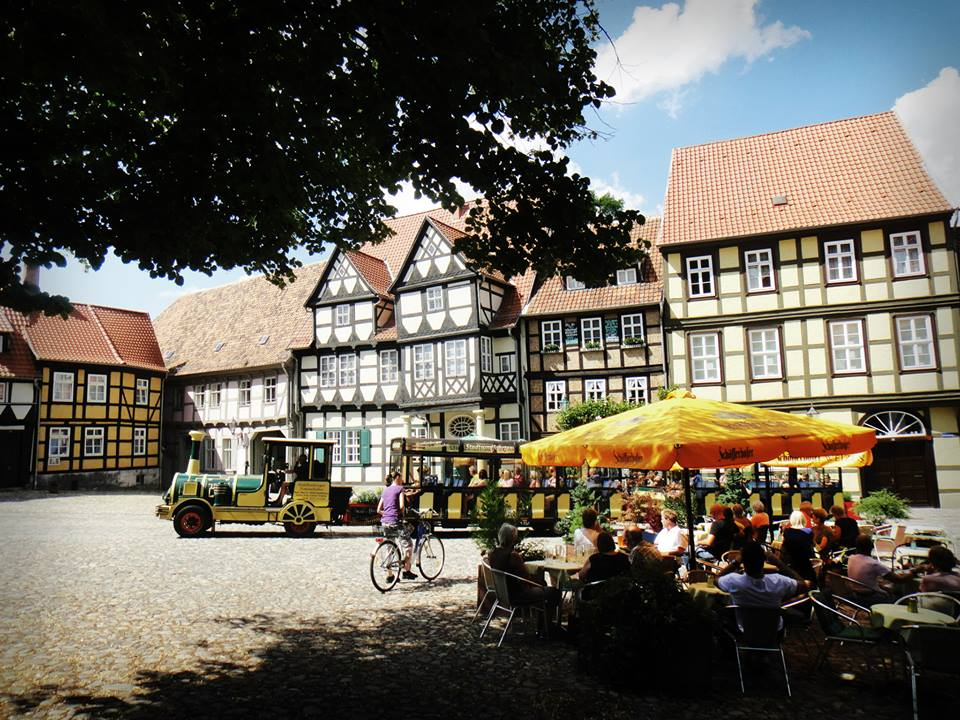 Quedlinburg in Germany is full of medieval architecture!
