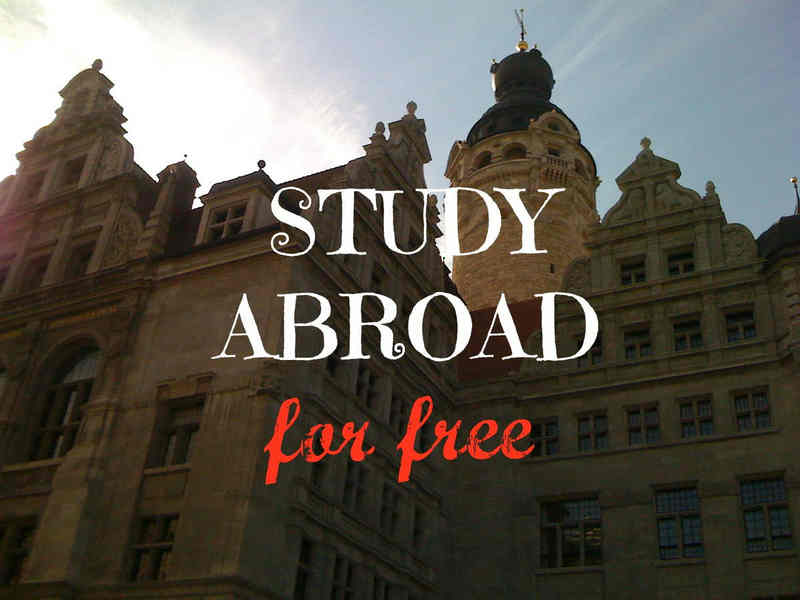 Learn how to study abroad for free!